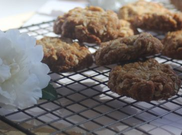 A chewy Anzac biscuit recipe