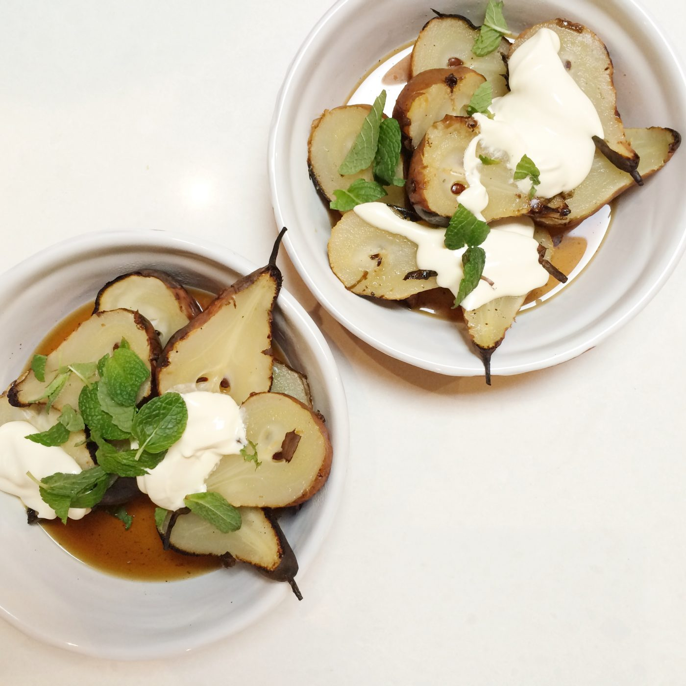 Simple & delicious.....barbecue pears