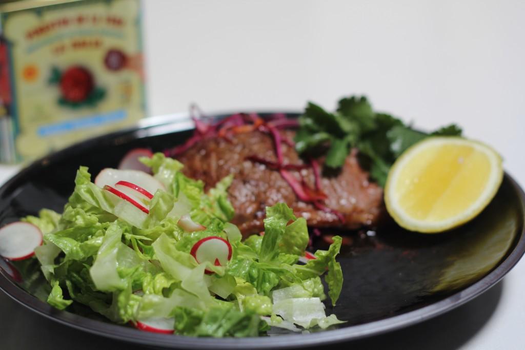 Sensational (& quick!!) Spanish smoky paprika steaks