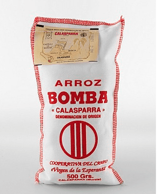 Arroz Bomba Calasparra rice 500g