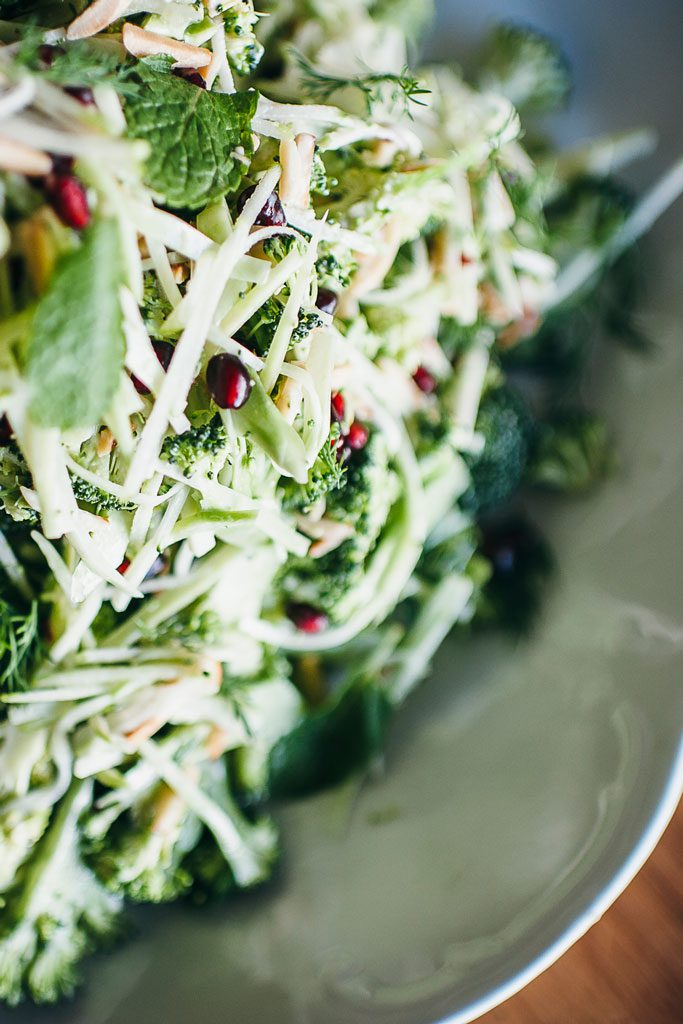 Nourishing salads and meals with Nellie
