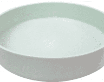 Sienna Shallow Bowl Mint Green