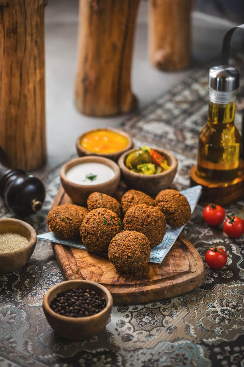 The Vegan Plate – Mezze plates, Burgers and more!
