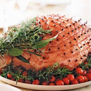 Glazed Ham For Christmas