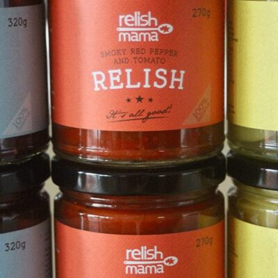 Relish Mama smoky red pepper and tomato relish resized