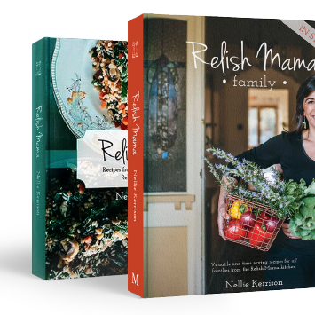 Relish mama two books