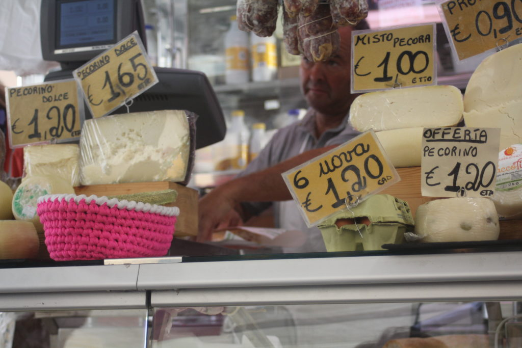 The markets of Chiavari - foodie heaven
