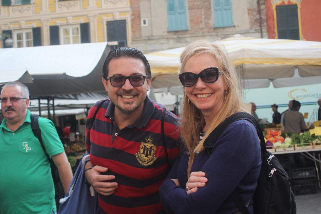 Cheeky Pietro & lovely Judy